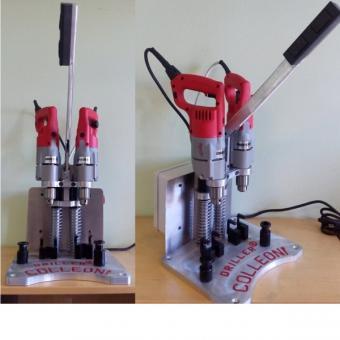 Gewindebohr- und -schneidemaschine <COLL-BIS> mit Ständer (St.)